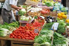 Verdure e ortaggi freschi